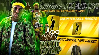 I WON BOOT CAMP + UNLIMITED BOOSTS in NBA 2K21 • BEST BOOT CAMP BUILD + HOW TO WIN BOOT CAMP EVENT