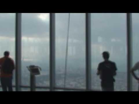 Observation Deck On The 124th Floor, Burj Khalifa (aka Burj Dubai)