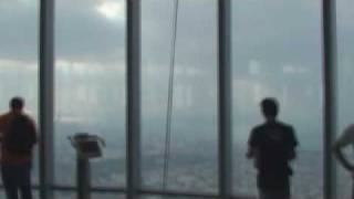 Observation deck on the 124th floor, Burj Khalifa (aka Burj Dubai)