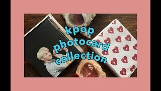 my woozi and red velvet kpop photocard collection