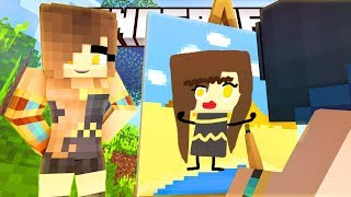 FUNNY DRAWING CHALLENGE! (Minecraft Pixel Painters)