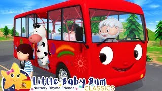 Canciones Infantiles | Las Ruedas del Autobús P. 14 | Dibujos Animados | Little Baby Bum en Español