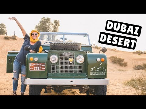 DUBAI DESERT SAFARI & DESERT CAMP!