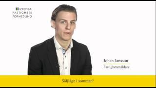 Svensk Fastighetsförmedling Linköping kommenterar Mäklarstatistik (v21 2012)
