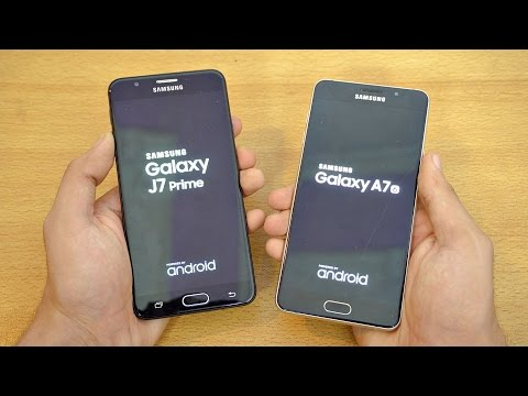 Samsung Galaxy J7 Prime vs A7 (2016) - Speed Test! (4K)