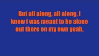 All Along-kid Cudi Lyrics