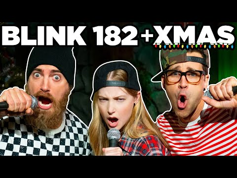 If Blink 182 Sang A Christmas Carol