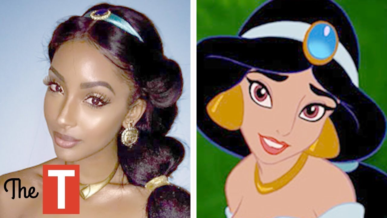 10 Disney Princess Stories In Real Life Youtube