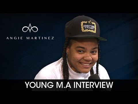 Young M.A On Beyonce Liking Her Music and Playing...
