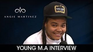 Young M.A On Beyonce Liking Her Music and Playing Powerhouse