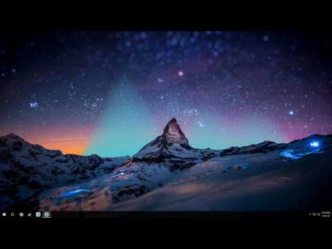 Rainmeter - Northern Lights