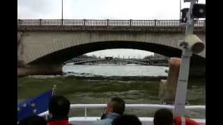 Boat Cruise on the Seine, Paris - Part 1 of 2 Thumbnail