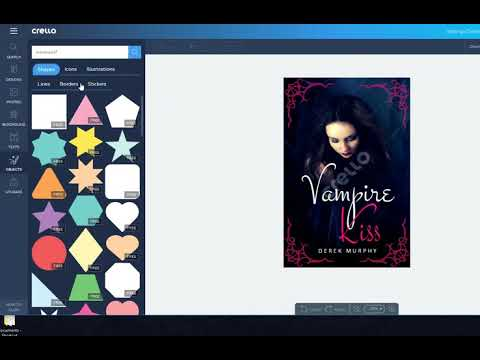 How to make a 99cent book cover with free online design software