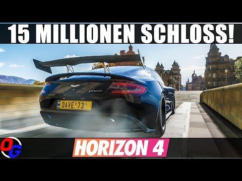 Das 15 Mio. Credit Schloss Edinburgh – FORZA HORIZON 4 Gameplay German | Lets Play 4K 60FPS Deutsch thumbnail