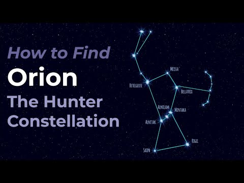 Orion the Hunter Reigns in the Winter Night Sky - Let Orion be your Guide Hqdefault