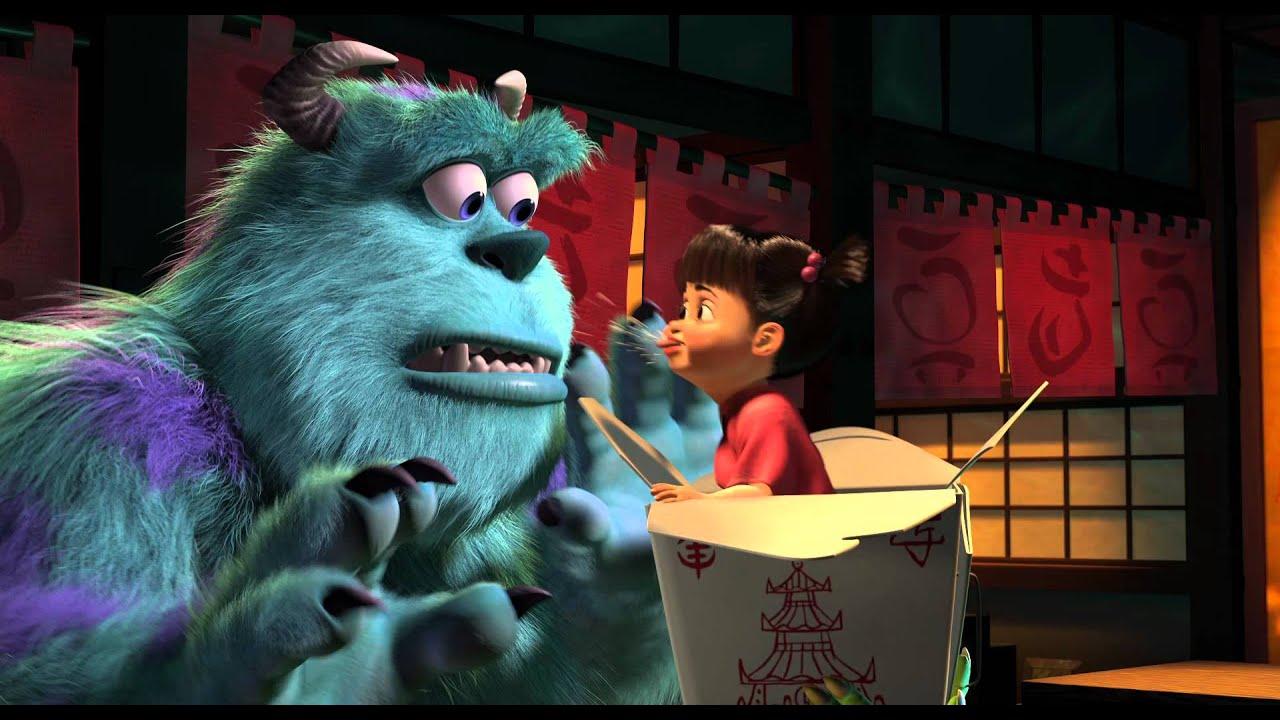 Wallpaper Monster Inc 3d Monstros S A 3d Trailer Oficial Youtube