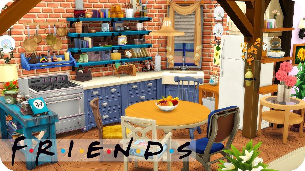 Friends Apartment Sims 4 Sd Build