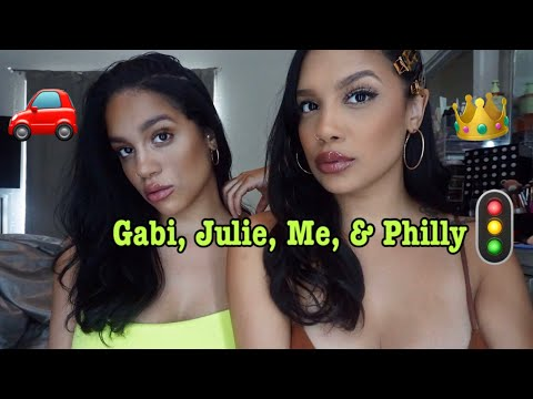 Me, Gabi, & Julie In Philly.... What A Nightmare