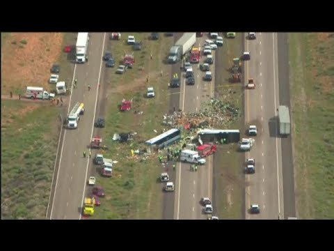 Six casualties in Greyhound bus crash heading to Phoenix from New Mexico