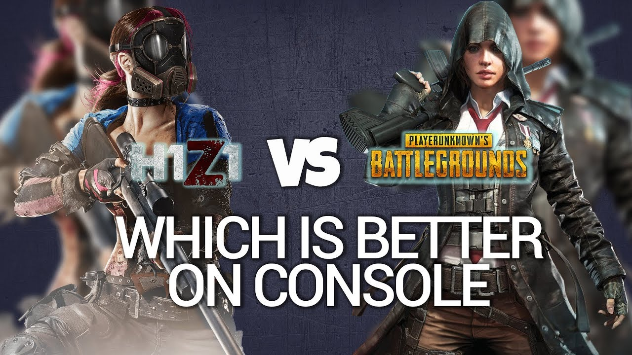 Pubg Ps4 Pro Hdr: H1Z1 PS4 PRO VS PUBG XBOX ONE X WHICH IS THE BETTER BR