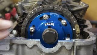 21 Nissan KA24E Adjustable Cam Sprocket