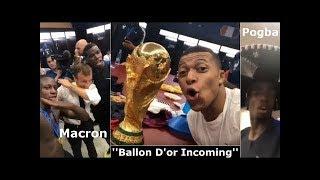 Что творилось в раздевалке сборной Франции после матча