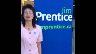 I Support Jim Prentice - A message from Amy