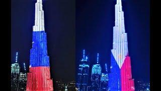 Dubai Burj Khalifa to Celebrate Philippines Independence day