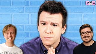 Philip DeFranco Becomes an Honorary Boy - The Gus & Eddy & Philip DeFranco Podcast