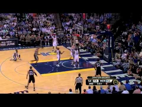 NBA Playoffs 2011: San Antonio Spurs  Vs Memphis Grizzlies Game 4 Highlights