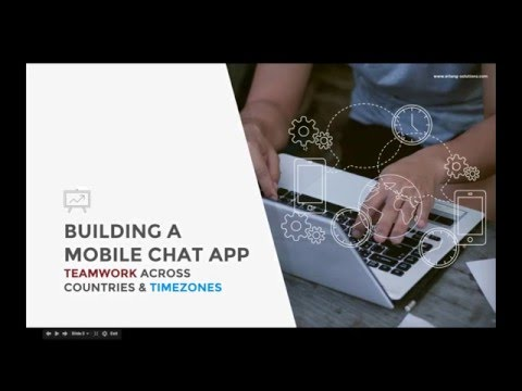Building a mobile chat app: teamwork across countries and timezones
