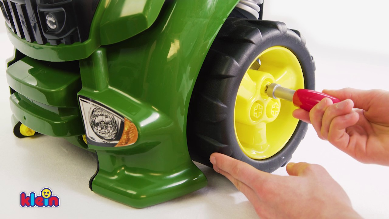 Klein Toys John Deere Tractor Engine Youtube