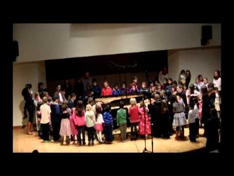 Music & Truffles December 7, 2014 - David Jalbert & Wonny Song, pianos AND the children!