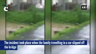 Mumbai Rains: Miraculous rescue of family using rope trapped in submerged car near Mumbai