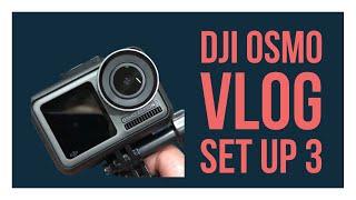 DJI جديدة أوسمو العمل أفضل VLOGGING مع 90 درجة USB محول
