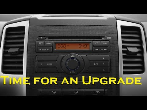 Nissan Frontier Xterra 2009 To 2016 Radio Removal And Installation