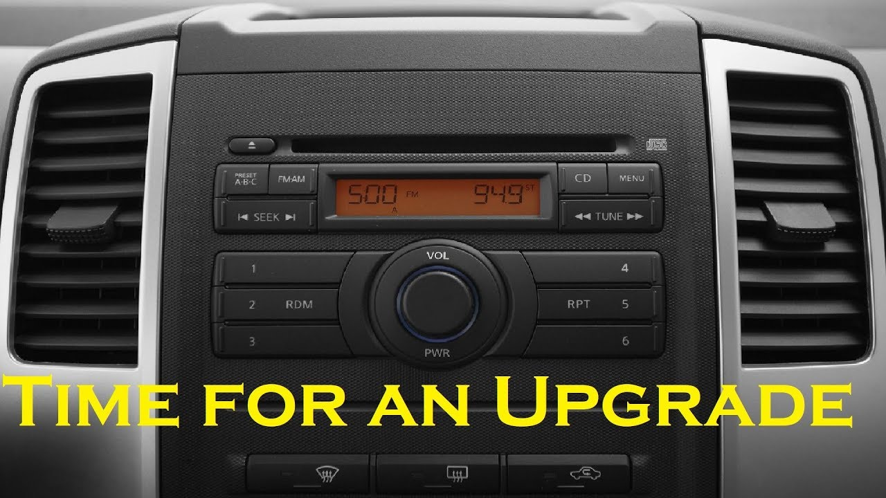 hight resolution of nissan frontier xterra 2009 to 2016 radio removal and installation