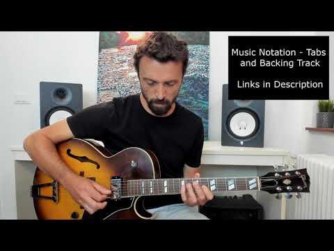Modern Jazz Guitar - Modal Improvisation #2 - E Minor - Coffee Break Grooves Collaboration
