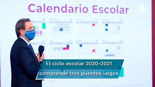 El calendario escolar para el ciclo 2020-2021 comprende tres puentes largos y dos periodos vacacionales, consulta aquí las fechas