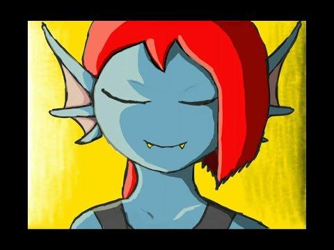 Undertale animation *Little Undyne* PT4 - The Strongest Monster     (Li