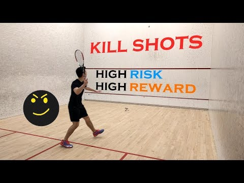 Squash Kill Shot Series - Introduction - How To Hit A Rolling Nick
