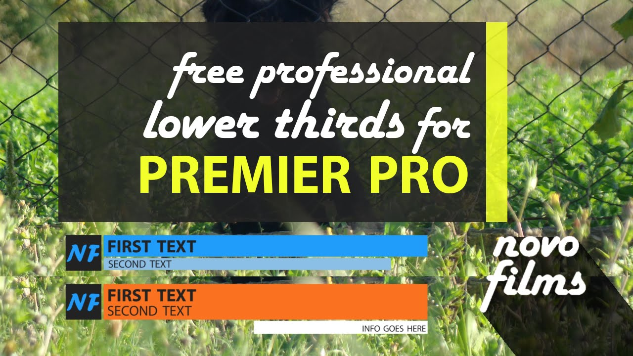 January 2015 - Free Professional Lower Thirds in Premiere Pro ...