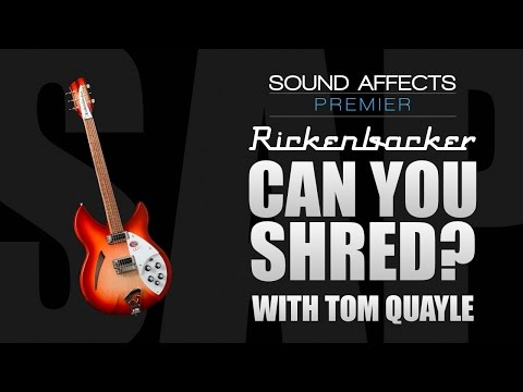''The Legato-Backer' Can you shred on a Rickenbacker w/ Tom Quayle?