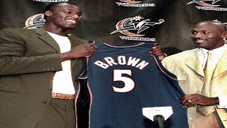 PROOF That Kwame Brown's Rookie Season Was SABOTAGED