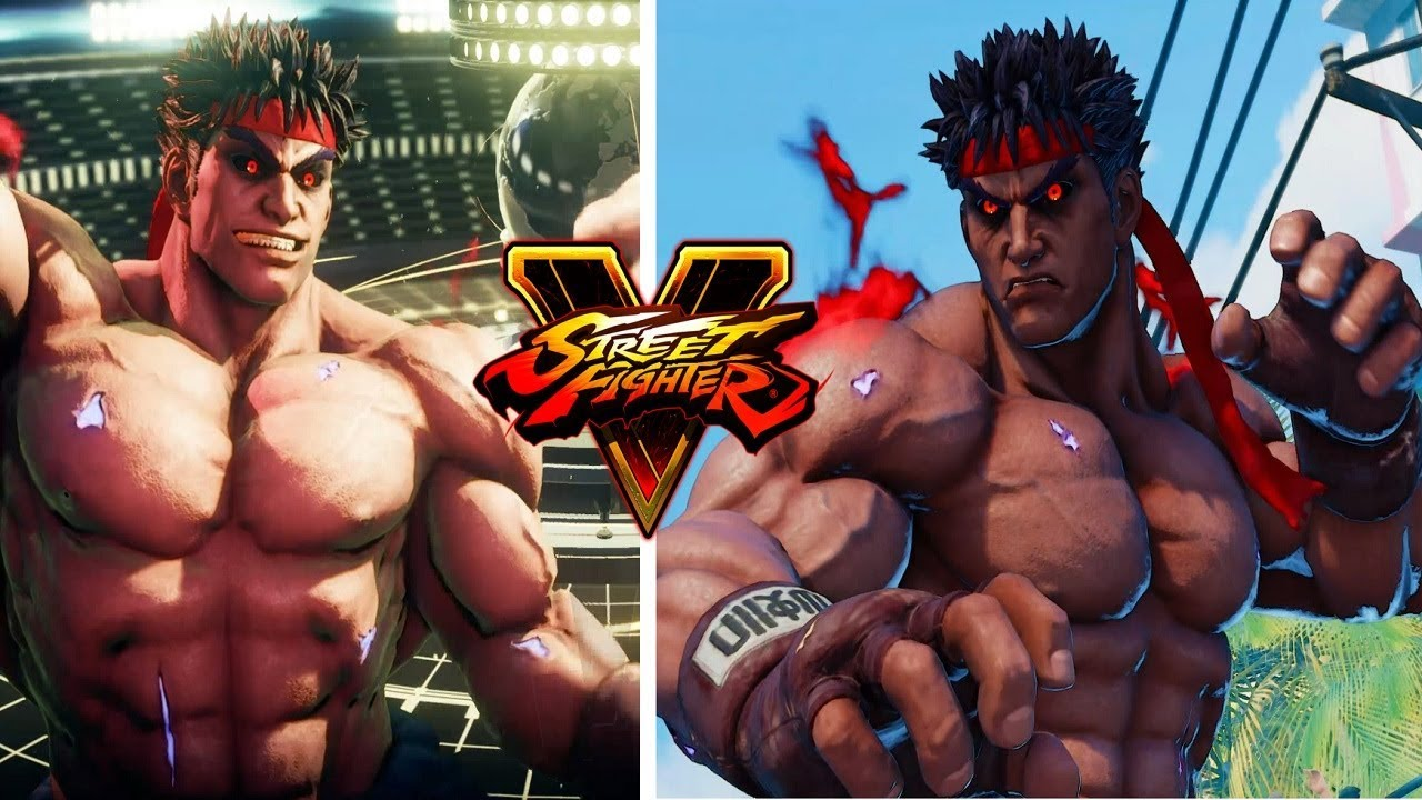 Street Fighter 5 mods Kage horns and underbite removed