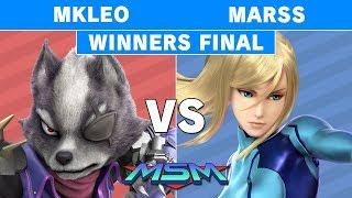MSM 176 - Echo Fox | MKLeo (Wolf) vs Marss (Zero Suit Samus) Winners Finals - Smash Ultimate