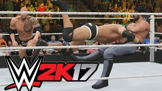 wwe 2k17 that was one cheap win tag team match playstation 4