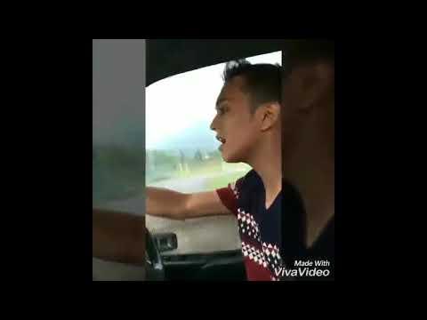 Steady Jerr!! Aiman Tino&Fara Hazel Nyanyi Lagu 'Aishiteru' Sambil Aiman Tino Bawak Kereta!