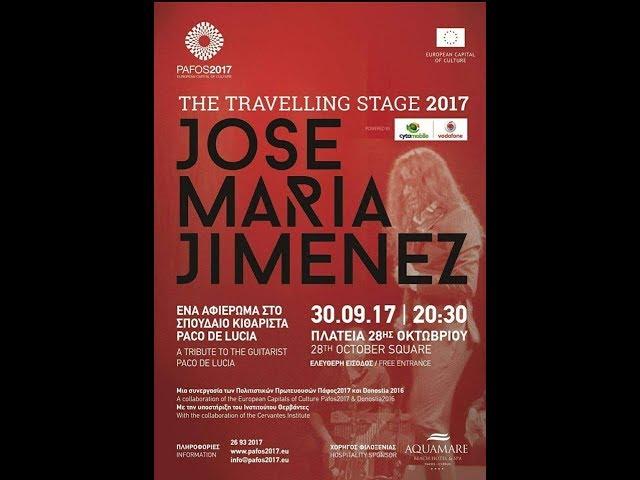 JOSEMARÍA JIMÉNEZ  GROUP at the European Capital of Culture Pafos (Cyprus) 2017