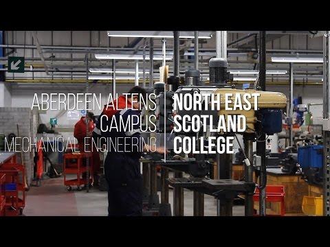 Mechanical Engineering at Aberdeen Altens Campus